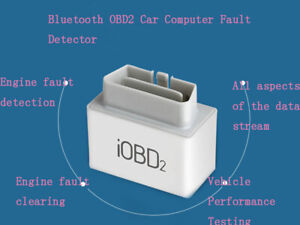 Intbuying New Iobd2 Diagnostic Tool Bluetooth Adapter Scanner