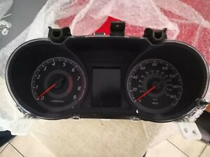 2012 Mitsubishi Lancer Ralliart Cluster With 110k Miles Led colored Cluster
