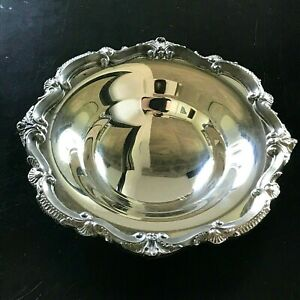 Small Candy Dish Bowl Silver Plate Epca Bristol By Poole Style 136