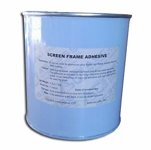 New Screen Printing Aluminum Frame Adhesive Stretching Sealconsumable 2 2 Lb