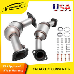 Fits 2004 2005 2006 2007 Cadillac Cts Catalytic Converter Set 3 6l