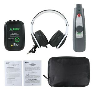 Beley Ultrasonic Leak Detector With Transmitter Air Water Fluid Pressure Vac