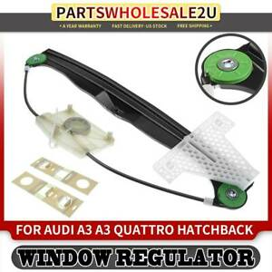 Window Lifter Regulator Rear Left For Audi A3 Quattro 2006 2013 W O Motor 749696