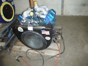 Wisconsin V465d Rebuilt Engine For Stump Grinder chippers has Std 2 Pto Shaft