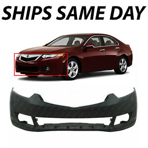 New Primered Front Bumper Cover Replacement For 2009 2010 Acura Tsx 09 10