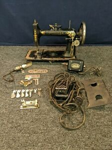 Priscilla Sewing Machine For Parts Tools Antique Vintage Electric R 30390