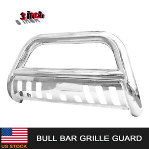 1994 2001 Dodge Ram 1500 Polished 3 front Stainless Bull Bar Grille Guard Usa