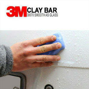 Clay Bar Car Auto Vehicle Clean Cleaning Detailing Remove Marks Clean 3m Blue