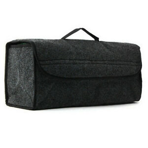 Trunk Cargo Organizer Foldable Caddy Storage Collapse Bag Bin For Car Truck Suv
