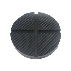 1pcs Cross Floor Jack Disk Pad Adapter For Pinch Weld Side Rail Stand Jackpad