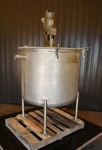 210 Gallon Stainless Steel Mixing Tank