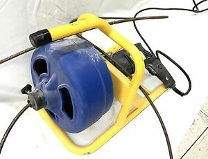 Brasscraft Bc260 5 16 In X 50 Ft Cable Drum Drain Cleaning Snake no Shipping