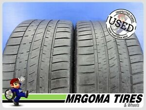 2 Michelin Pilot Sport A s 3 Xl 245 35 18 Used Tires No Patch 92y Dodge 2453518