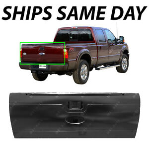 New Primered Steel Tailgate For 2008 2016 Ford Super Duty W Out Integrated Step