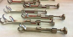 Qty 7 Zimmer Innomed Depuy Richards Surgical Orthopedic Lowman Clamps 47a