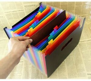 Organ Bag File Holder A4 Document Organizer Classification Business Folders Case