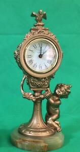 Tiffany And Co Movement Complimented With Antique French Boudoir Clock Tower