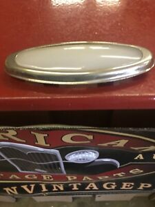 1930 s 32 33 34 Ford Victoria Vickie Dome Light Lens Bezel Milk Glass