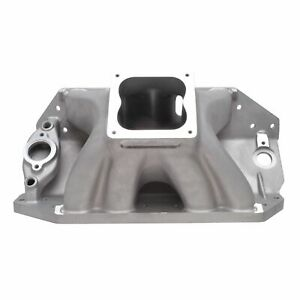 Edelbrock 28002 Big Victor 2 Spread Port Tall Deck Intake Manifold For Bb Chevy