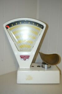 Vintage Toledo 2 Lbs White Candy Scale Model 3111
