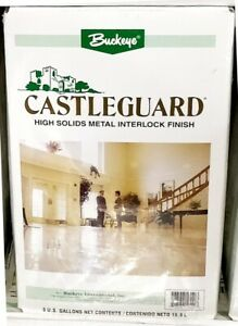 Floor Finish Wax 5 Gallon Buckeye Castleguard
