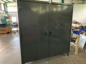 Strong Hold 66 ds 248g Heavy Duty Storage Cabinet Gray 78 H X 72 W X 24 D