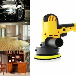 Electric Car Polisher Machine Adjustable Speed Sanding Waxing Accessories Auto