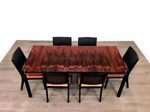 Mid Century Modern Rosewood Dining Table By Glenn Of California Robert Baron