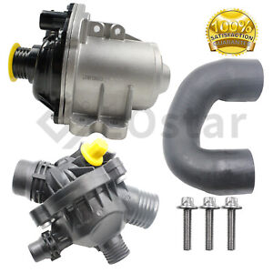 Electric Engine Water Pump Bolts Thermostat Hose Fits Bmw 135i 335is Z4
