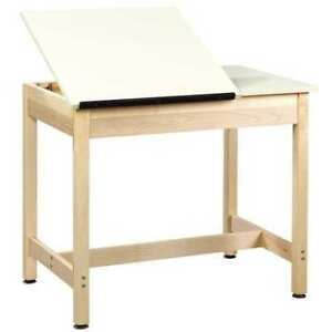 Diversified Woodcrafts Dt 9sa30 Drafting art Table Almond