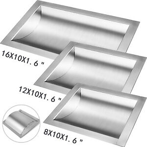 Cash Window Drop in Deal Tray 8 12 16 For Gas Stations Banks 304