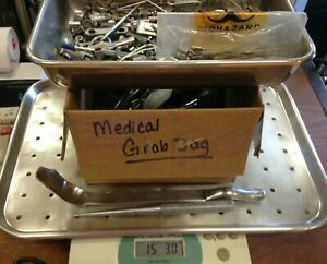 15 Lbs Lot medical Surgical Orthopedic Instruments Supplies see Photos 1t