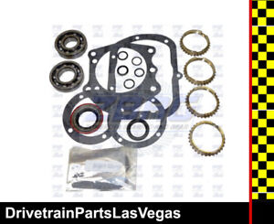 Saginaw 4 Speed Manual Transmission Rebuild Kit W Synchros Chevrolet 1966 1987