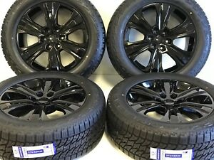 20 Ford F150 Expedition Set 4 04 19 Black Factory Oem Wheels Rims Tires Offr At
