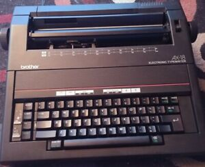 Brother Ax 18 Electronic Processing Typewritter For Parts Only As is Broken