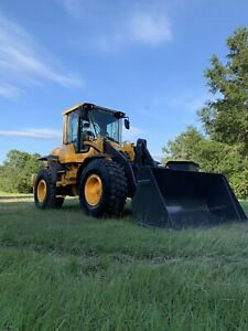 13 Volvo L60g Wheel Loader Only 3 990 Hours Financing Shipping Avail Tx