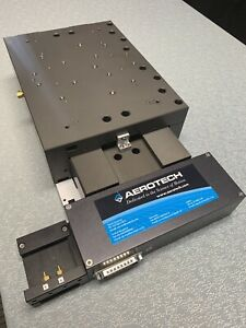 Aerotech Abl10100l Wide Body Linear Motor Air Bearing Stage 100mm Travel