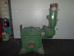 Textron Nv00s55615 w7a6 1500 1 Cone Drive Rock Crusher Gearbox W Motor 2