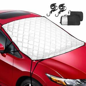 57 X 50 Foldable Windshield Sunshade For Car Front Window Visor Wind Shield
