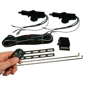 Autoloc 2 door Power Door Lock Kit W Central Remotes