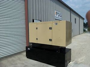 20 Kw Diesel Generator Kubota Enclosed With 150 Gallon Fuel Tank