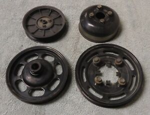94 95 Mustang Gt Cobra 5 0 302 Crankshaft Power Steering Water Pump Pulley Smog