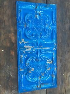 24x12 Antique Tin Ceiling Tile Vintage Metal For Craft Projects Decor