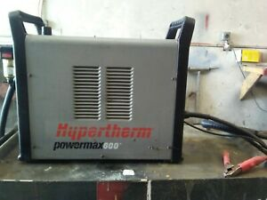 Hypertherm Powermax 600 Plasma Cutter In Good Working Condition
