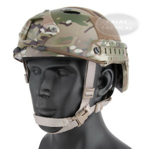 Emerson Tactical FAST Helmet PJ Type Durable Lightweight Headwear w NVG Shroud