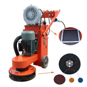 Brand New 220v Concrete Floor Grinder With Fan industry Tools Heavy Duty Us