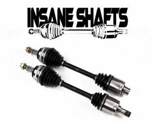 Insane Shafts Race Axles 500hp 08 15 Mitsubishi Lancer Evolution 10 Front Pair