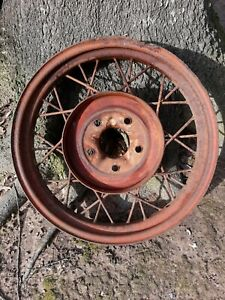 Model A Ford 1930 1931 21 Wire Wheel Man Cave Decor