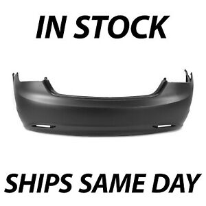 New Primered Rear Bumper Cover Replacement For 2011 2013 Hyundai Sonata 11 13