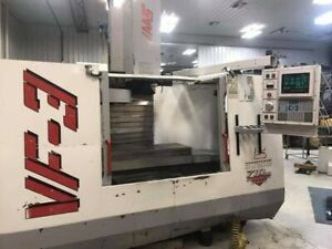 1997 Haas Vf3 Cnc Mill Flat Screen Conversion